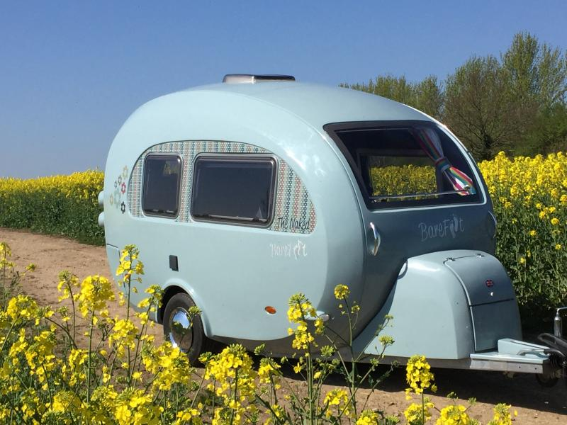 The curvy caravan, a world first - Anytime Booking